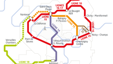 Carte Grand Paris Express - plan des lignes
