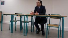 Patrick Devdjian, président du Paris métropole, lors du point presse du 13 janvier 2015