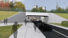 L'élargissement des ponts rail/RER et TER devrait permettre de fluidifier l'accès au quartier de la gare. Il permettra de circuler à double sens et sera accessible aux cyclistes et aux piétons.