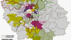 Carte du Grand Paris : Intercommunalité © IAU