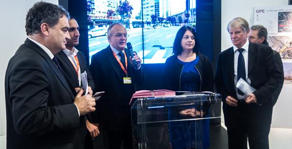 Signature du partenariat SGP - Epfif, le 4 décembre, au Simi ©Jp