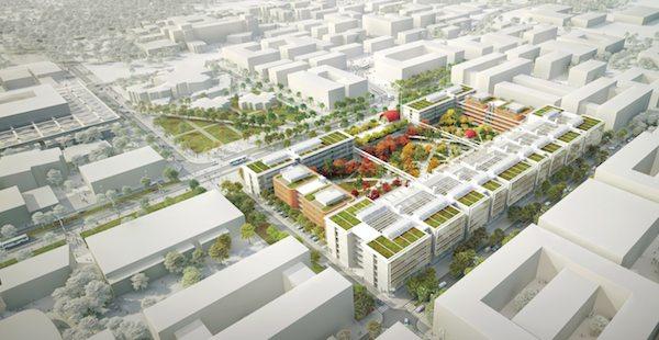 Paris-Saclay - Projet architectural de l'ENS Cachan © Renzo Piano Building Workshop