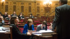 Marylise Lebranchu au Sénat. Le 22 janvier 2015 ©Jp