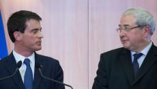 Signature du contrat de plan Etat-Région avec Manuel Valls