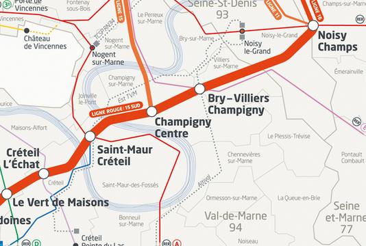 Grand Paris express ligne 15 sud