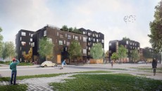 260 logements étudiants dans la ZAC du Moulon vont être réalisés par Léon Grosse et Tank Architectes.