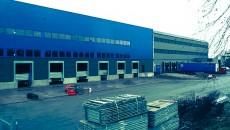 Le nouvel entrepôt d'Emil Frey à Saint-Ouen-l'Aumône.