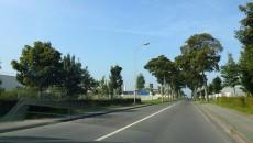 Voiture sur route