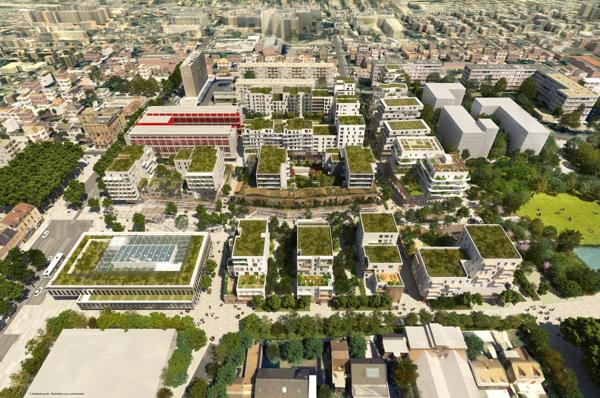 Altarea cogedim et imestia cr ent un nouveau centre ville bezons - Piscine d issy les moulineaux ...