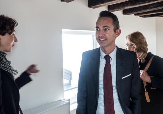 Ian Brossat, adjoint au logement de la ville de Paris.
