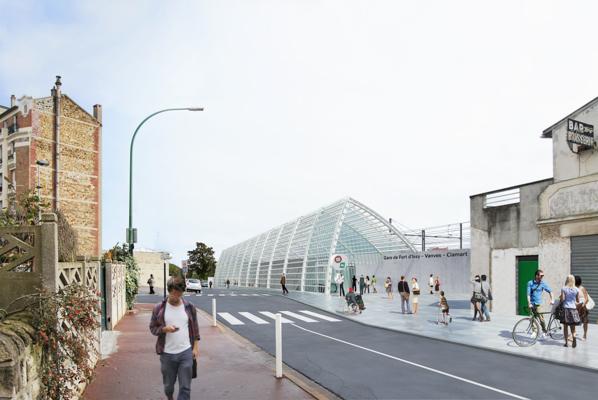 Rue du Clos Montholon - Gare Fort d'Issy - Vanves - Clamart - Philippe Gazeau