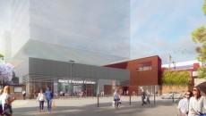 Perspective du parvis de la gare d'Arcueil-Cachan - Ar.Theme