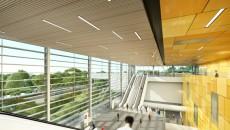 Espace intérieur de la gare de Bry-Villiers-Champigny - Richez Associés.