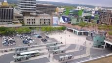 Vue de la gare de Cergy Préfecture.