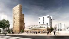 Projet Urbem Masséna présenté dans le cadre de Réinventer Paris.