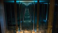 Le plus grand réservoir du Sedif (91 500m3), situé à Montreuil, a été rénové de 2012 à 2014.