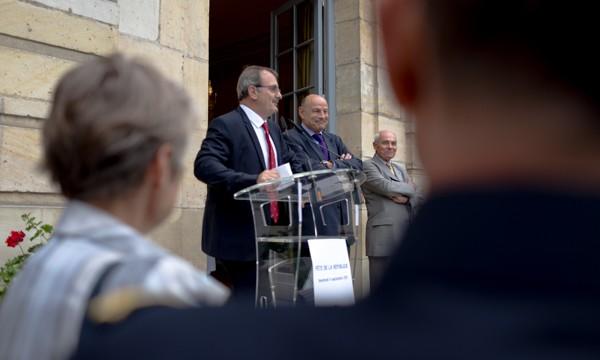 Jean-François Carenco célèbre le 145° anniversaire de la République, le 4 septembre dernier à l'hôtel de Noirmoutier, sa résidence.