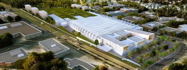Futur site industriel de Champigny.