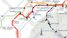 Tracé de la ligne 15 ouest du Grand Paris express.