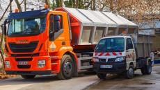 Camion au GNV de Moulinot.