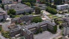 Vue du site hospitalier de Lagny-sur-Marne.