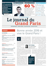 Couverture 57 - Le Journal du Grand Paris