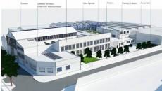 Perspective de la Cité de l'écoconstruction à Pantin.