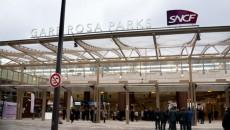 Gare Rosa Parks du RER E.