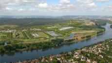 Vue de l'usine Seine aval après sa refonte.