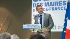 Stéphane Beaudet au Salon de l'Amif en avril 2015.