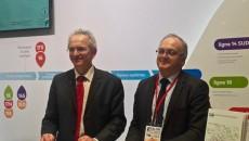Christophe Devys et Philippe Yvin au Salon de l'Amif.