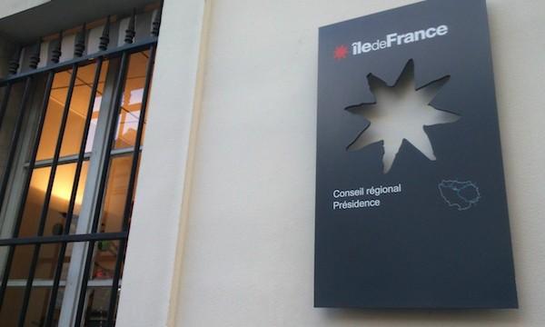 Conseil régional d'Ile-de-France.