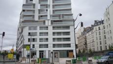 Logements neufs avenue de Clichy (17e arr.).