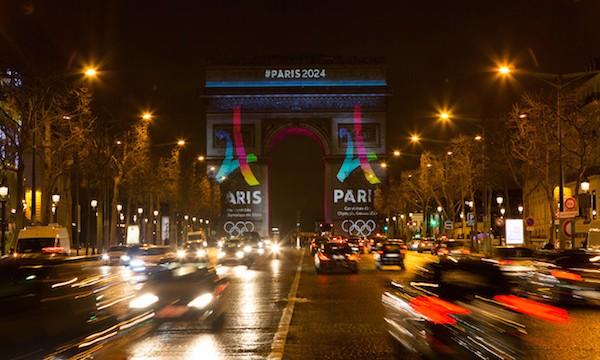 Dévoilement du logo Paris 2024.