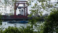 Port de Gennevilliers.
