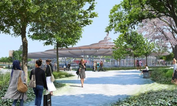 Future gare du Grand Paris express de Noisy-Champs