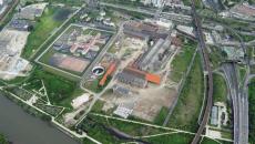 Site des Papeteries de la Seine à Nanterre.