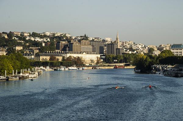 La caserne Sully, à Saint-Cloud, qui va être acquise par le conseil départemental des Hauts-de-Seine. © CD92