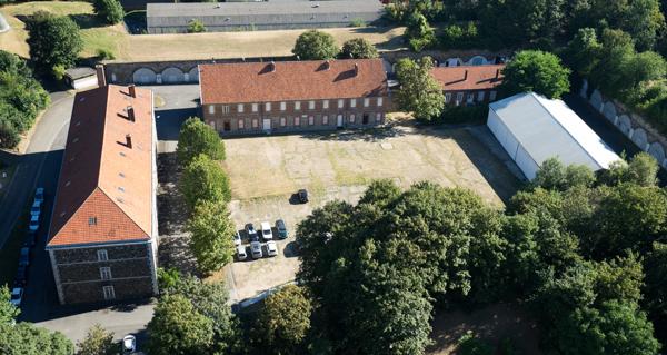 Le fort de Romainville, aux Lilas. ©Jgp