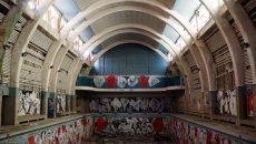 """L'ancienne piscine municipale de Saint-Denis, de style art-déco, pourrait connaître un renouveau grâce à """"Inventons la métropole""""."""