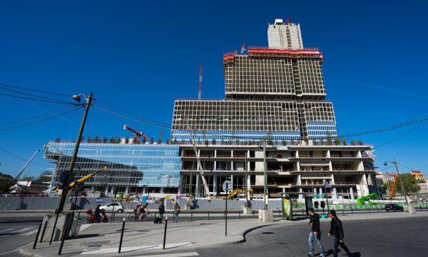 Palais de justice - Cité judiciaire - dessiné par Renzo Piano - Bouygues construction