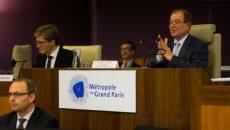 Patrick Ollier lors du conseil métropolitain du 30 septembre 2016.