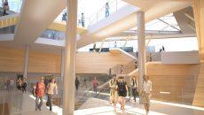 """La gare de Sevran Beaudottes va permettre d'aller """"dans des quartiers où l'on ne va pas aujourd'hui"""", explique Jean-Marie Duthilleul"""