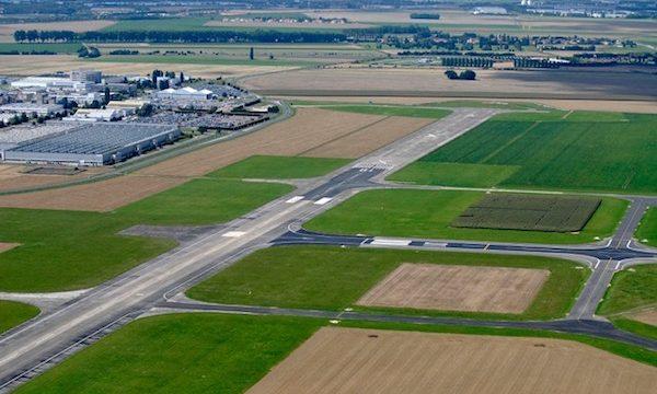26 ha de terrain sont disponibles sur l'aérodrome de Villaroche.