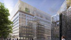 Le Carré Michelet sera sera surélevé de sept niveaux côté boulevard circulaire et de trois côté parvis Michelet.
