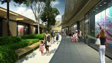 Porté par le promoteur Frey et conçu par l'agence d'architecture Chapman Taylor, ce parc à l'enseigne Shopping promenade développera 40 000 m2 de superficie dont les trois quarts de commerces. © Chapman Taylor