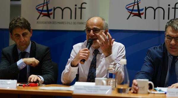 Dominique Figeat, président de l'Observatoire régional du foncier (ORF) ©Jgp
