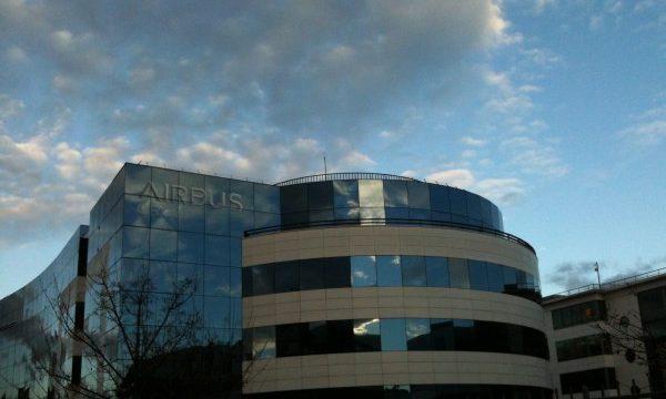 Site d'Airbus à Suresnes.