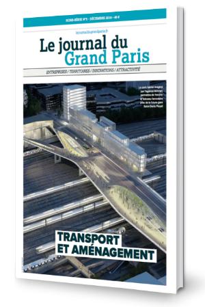 Couverture hors-série transport et aménagement Grand Paris