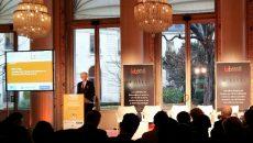 Didier Kling lors du lancement du Lab santé Ile-de-France, le 13 décembre 2016 à la CCIR